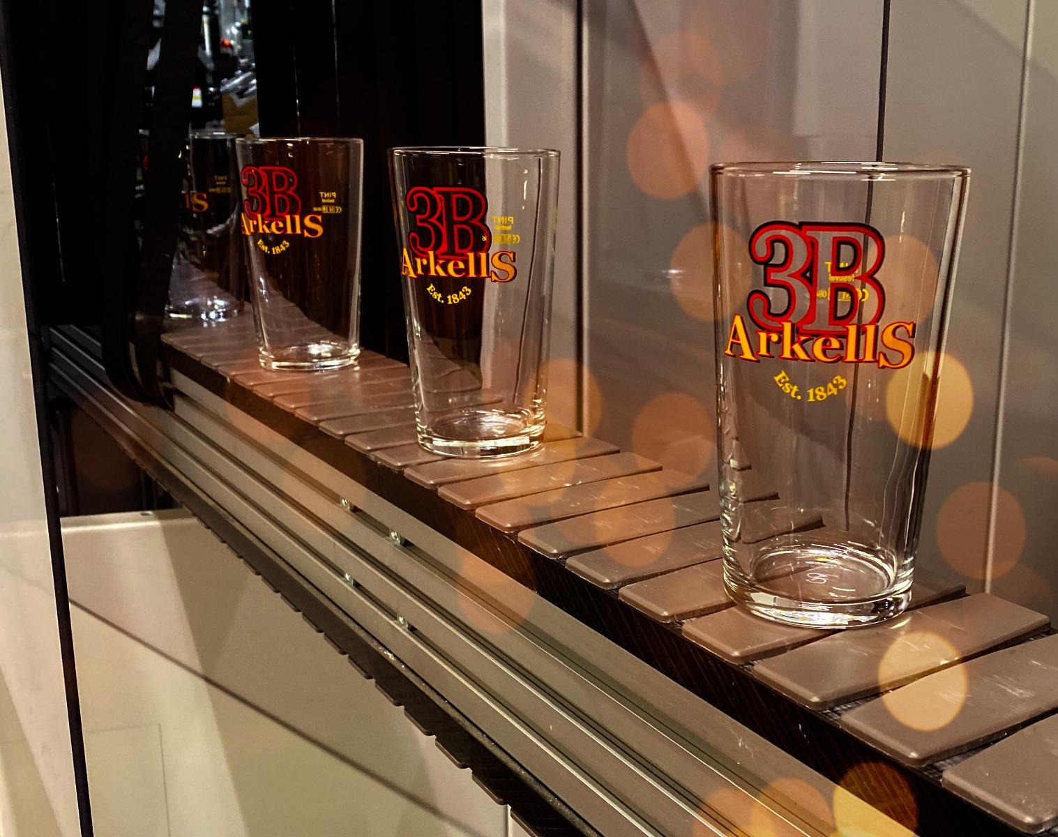 Arkells Brewery - Festival Glass