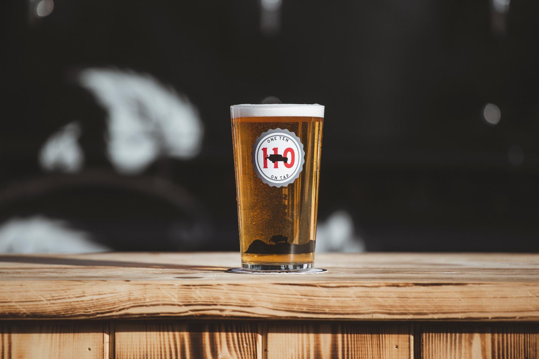 Beer Wagon - Festival Glass