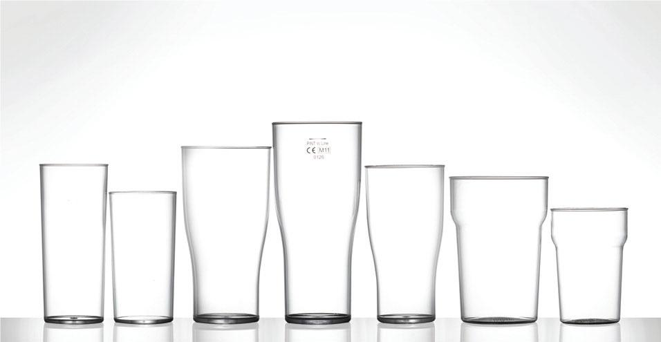 Polycarbonate Range - Festival Glass