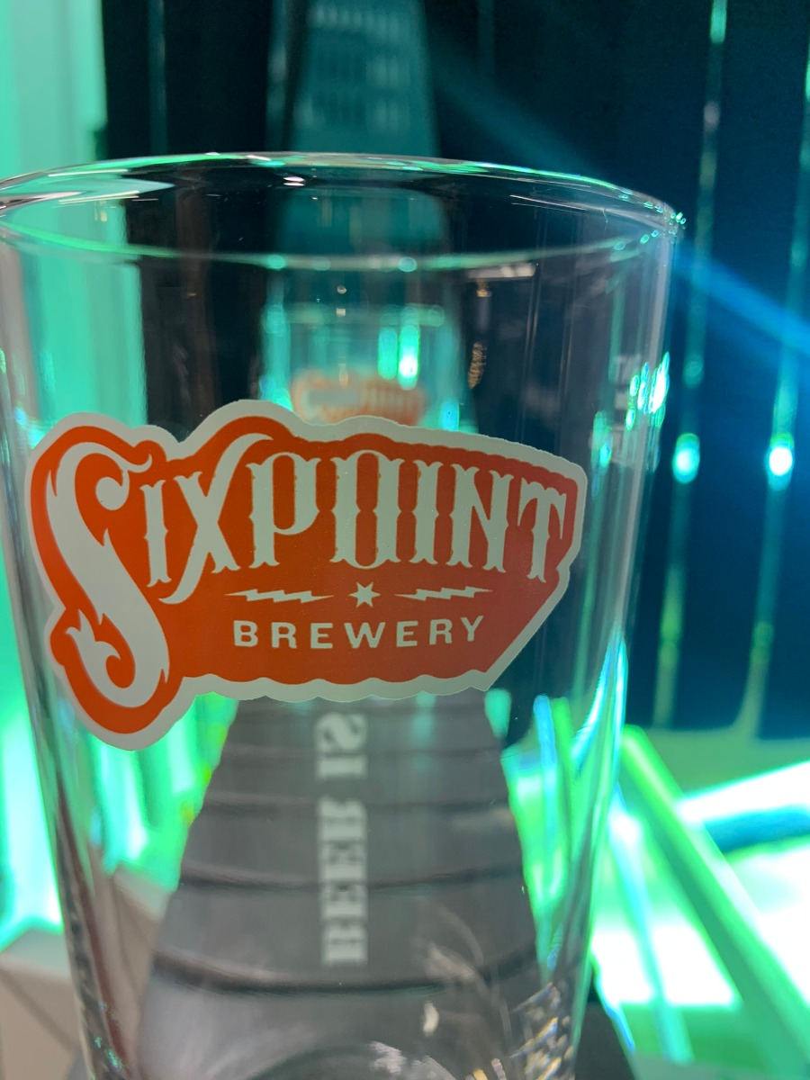 Sixpoint Brewery - Festival Glass