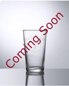 Toughened 10oz Conical Half Pint Glass- Festival Glass