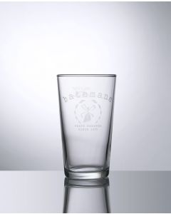 Branded 10oz Conical Half Pint Glass - Festival Glass