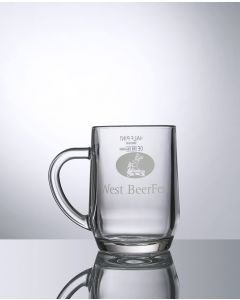 10oz Half Pint Howarth - Festival Glass