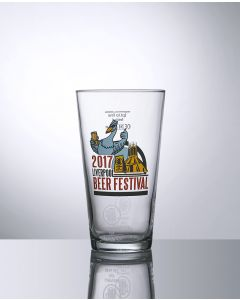 12oz Conical oversized Half Pint Beer Glass - Festival Glass