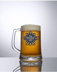 12oz Festival Tankard Oversized Half Pint Glass