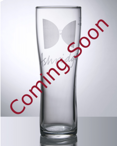 Toughened Branded 20oz Aspen Empty - Festival Glass
