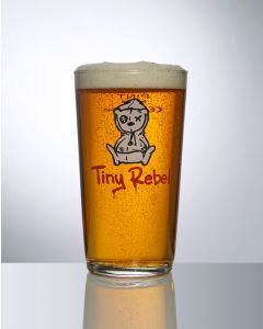 Toughened 20oz Conical Pint Glass