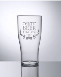 20oz Tulip Pint Polycarbonate - Festival Glass