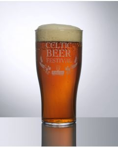 20oz Tulip Polycarbonate Pint Glass
