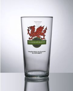 23oz Conical Beer Glass - Festival Glass