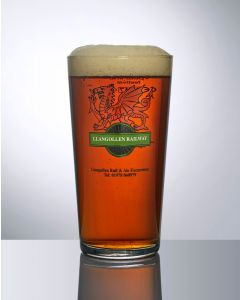 Toughened 23oz Conical Oversize Pint Glass