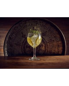 Toughened 20.75 Havana Gin Glass